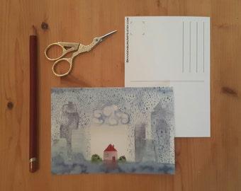new home postcards, fine art postcard, moving postcard, moving card, verhuiskaarten, fine art print, greeting cards,