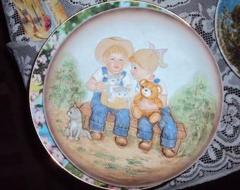 Denim Days Plate Homco, 006