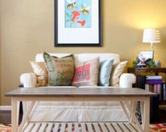 Hudson Farmhouse Coffee Table