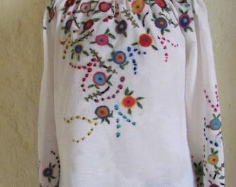 "Embroidered blouse "" Veselunka """