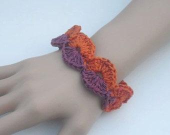 Bracelet - bracelets - crochet bracelet - jewelry - bracelet - handmade