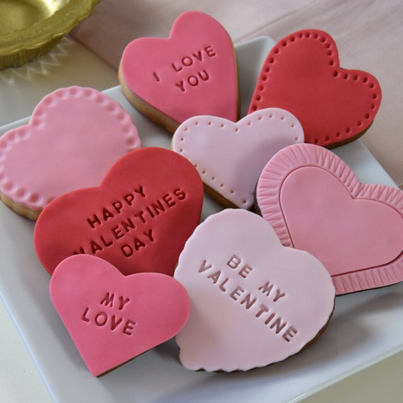 Image result for personalised cookies valentines day