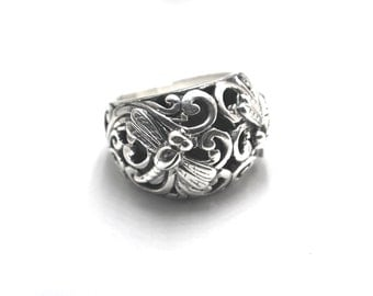 Dragonfly Dome Ring
