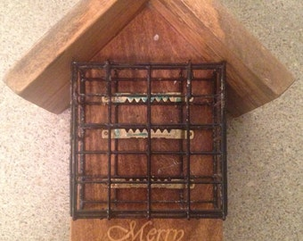 Custom Engraved Suet Feeder
