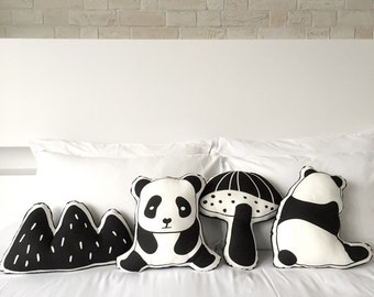 Mountain Panda Plushie/Soft toy (3 designs available)