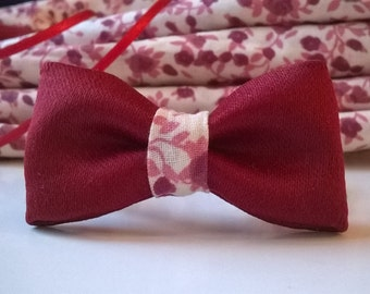 Bow bracelet red and Liberty