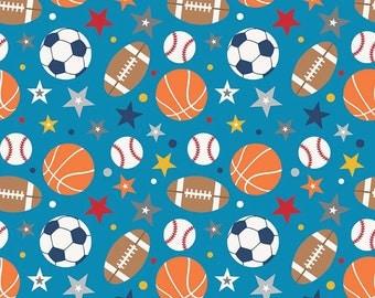 Blue Baseball Quilt Etsy