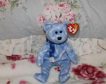 Ty Benie Baby 1999 Holiday Teddy