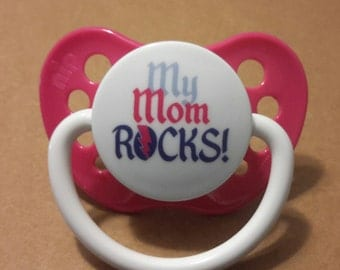 magnetic or putty pacifier for use with reborn baby dolls