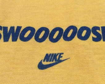 1980s NIKE SWOOOOSH Vintage Basketball Made in U.S.A Shirt