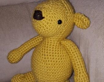 Classic Winnie the Pooh stuffed animal- stuffed Winnie the Pooh - stuffed animal - Winnie the Pooh - stuffed bear