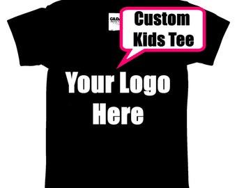 Custom Kids T Shirt, Custom Design, Your Design, Personalized Design, Vinyl Glitter Shirt, Your Logo On A Shirt, Express Yourself!