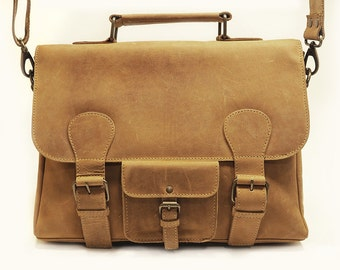 Johnston Satchel Vintage Tan
