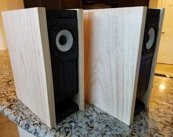 Handmade Bookshelf  Speakers
