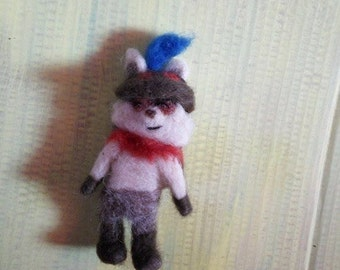 Needle felted Teemo - League of Legends