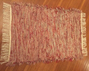 Handwoven Rug, Luxurious Extra Thick Shaggy  Durable and Washable