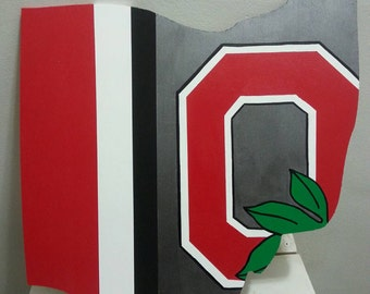 Ohio state buckeyes logo Ohio Wall Art