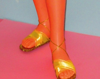 Harmony doll shoes LEMON LOVE flats shoes for HARMONY doll by Ideal