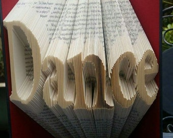 Dance Book Folding Pattern, 280folds, plus full tutorial