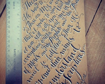 CUSTOM Moleskine Journal, Mommy Memories / Notable Events / Monogram