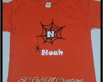 Youth Personalized Halloween Shirt