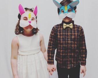 Super Bunny Mask