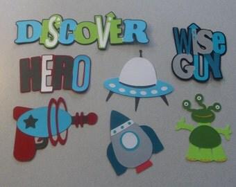 Outer Space Boys Cricut Die Cut set