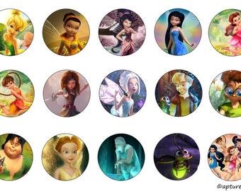 Fairy bottle cap collection
