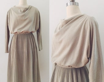 Vintage 80's knitted dress