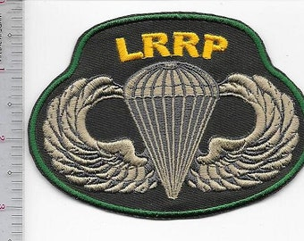 LRRP US Army Long-range Reconnaissance Patrol Airborne Special Operations