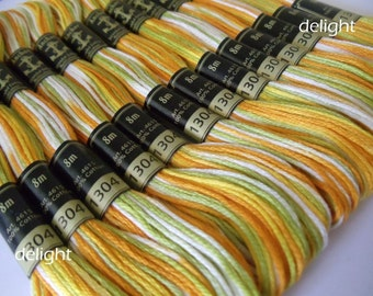 Anchor Thread 1304 Multi Colour 6 Strand Floss / Skeins