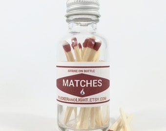 Apothecary Matches FREE SHIPPING