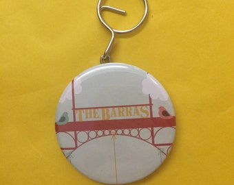 The Barras Open Opener Key Ring