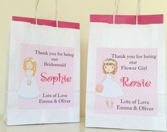 Personalised Wedding Paper Gift Bag