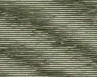 SCALAMANDRE ETHNIC Chic Silk Ribbed OTTOMAN Fabric 10 Yards Seafoam