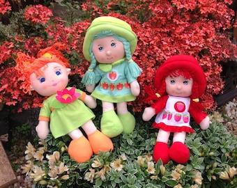 Cloth rag dolls