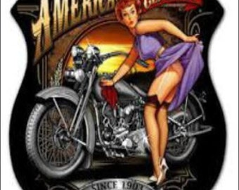 """2"""" x 3"""" Magnet American Classic Pin-up Girl one MAGNET"""
