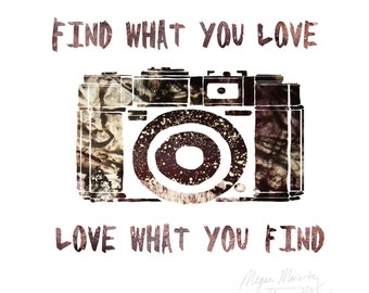 Love what you find.