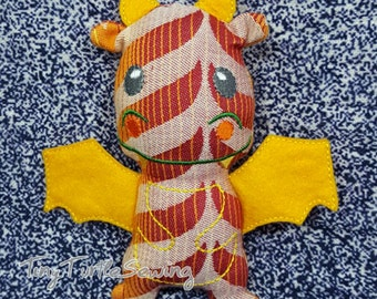 Wrap Scrap Dragon - Tula Migaloo Delight