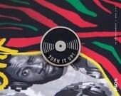 Turn It Up! - Vinyl Enamel Pin