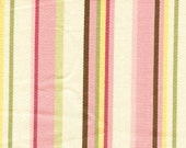 Pink Stripe Fabric with b...