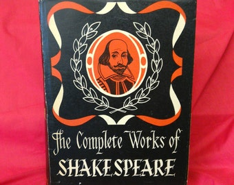The complete works of Shakespeare. 1960s hardback