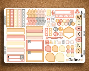 STRIPED Functional Planner Sticker Sampler for Inkwell Press Planner a5 Flex & Bound Flex IWP-SSAM1