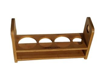 CLARK'S Bamboo Cutting Board Caddy
