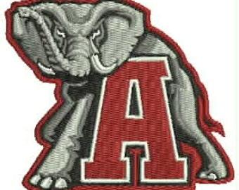 University of Alabama Embroidery Design