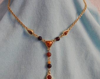 Monet signed Necklace, Vintage