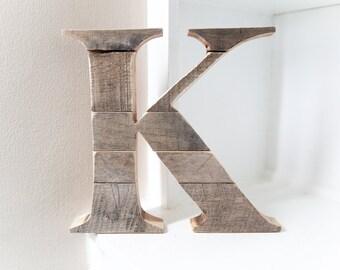 Nursery Wall Letters, Wooden Letter, Wood Letter, Home Decor, Wall Decor, Pallet Art, Room Decor, Pallet Letter,  Rustic Letter