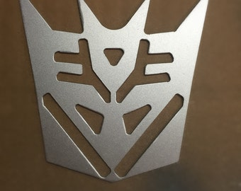 Transformers movie Decepticon Optimus theatre metal wall art decoration, decor, sign, hanging, gifts for guys him husband boyfriend kids