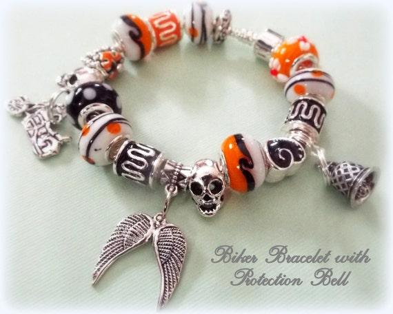 motard moto bracelet biker protection bell cadeaux pour. Black Bedroom Furniture Sets. Home Design Ideas