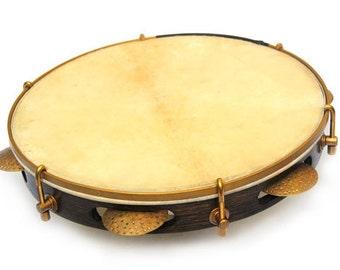 "Pandeiro 10"" Pandeirar Frame Drum goatskin head"
